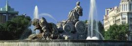 Estatua a la diosa Cibeles en Madrid